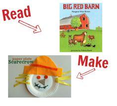 Preschool Story Book Craft - Farm