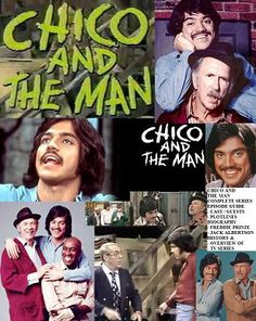 Chico and the Man tv series, Stars: Freddie Prinze, Jack Albertson & Scatman Crothers. Childhood Tv Shows, My Childhood Memories, Great Memories, 1970s Childhood, Comedy Tv Series, Nostalgia, Old Shows, Great Tv Shows, Vintage Tv