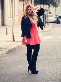 e2c46b4efcdf1 Dress  Primark Shoes  Primark Jacket  Vintage Curvy Girl Fashion