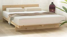 kumo Japanese pine futon bed