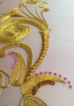 If you love goldwork, check out our course: https://www.mastered.com/courses/22 £120 for lifetime access.