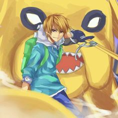 Anime adventure time...would be so much better if it was actually like this