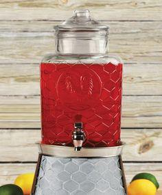 Look at this #zulilyfind! Rooster Drink Dispenser & Ice Bucket #zulilyfinds