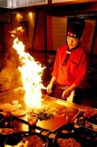 Japanese Hibachi Grilling...