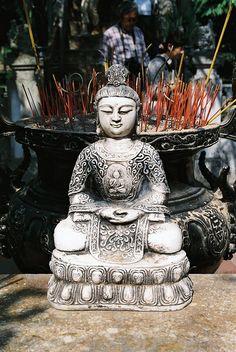 Buddha under the sun