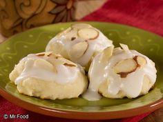 Ricotta Almond Cookies | mrfood.com