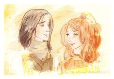 ...of young Lily and Severus