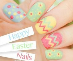 Easter nail designs are the cutest ones among the rest of the spring nail art ideas. Check out this compilation to see some the best Easter nail designs to try this weekend! Nail Art Designs, Easter Nail Designs, Easter Nail Art, Nail Designs Spring, Happy Nails, Spring Nail Art, Spring Nails, Love Nails, Pretty Nails