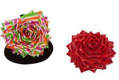 Duct Tape Heart Rose Ring   AllFreeKidsCrafts.com
