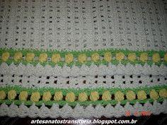 ARTESANATOS TRANSITÓRIA: crochê - tapetes