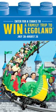 #Win a Family Trip to #LEGOLAND