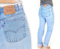 Vintage 90s High Waist Levi's 512 Slim Fit Mom Jeans by SadieBessVintage - $40