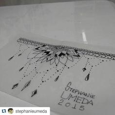 Desenho da @stephanieumeda  ・・・ Estudo de hoje, disponível para tatuar. #tattoo…