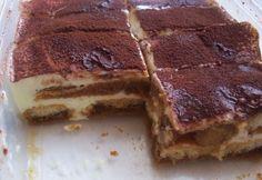 Pudingové tiramisu s orechmi a hrozienkami - Receptik. Tiramisu, No Bake Cake, Ale, Breakfast Recipes, Sweets, Baking, Ethnic Recipes, Food, Gummi Candy