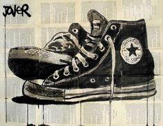 Converse All Stars #art by artist Loui Jover @converse #sneakers #sneakernews #StreetStyle #Kicks #adidas #nike #vans #newbalance #puma #ADIDAS #ASICS #CONVERSE #DIADORA #REEBOK #SAUCONY