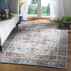 Shop for Safavieh Handmade Saffron Colomba Modern Tribal Cotton Rug. Get free delivery On EVERYTHING* Overstock - Your Online Home Decor Store! Get in rewards with Club O! Pacific Homes, Classic Rugs, Boho Living Room, Living Rooms, Online Home Decor Stores, Colorful Rugs, Blue Grey, Gray, Area Rugs