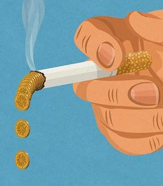 Editorial Illustrations by John Holcroft