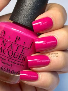 """Ford Mustang by OPI Nail Polish Collection in """"Race Red"""", """"The Sky's My Limit"""" & """"Girls Love Ponies"""": What every lady needs to match her Mustang; Fancy Nails, Cute Nails, Pretty Nails, French Tip Nail Designs, French Tip Nails, French Tips, Opi Nail Colors, Summer Nail Polish Colors, Nagel Hacks"""