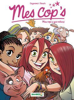 Cazenove: Mes Cop's 6: Plus cop's que nature.   C 50 CAZ