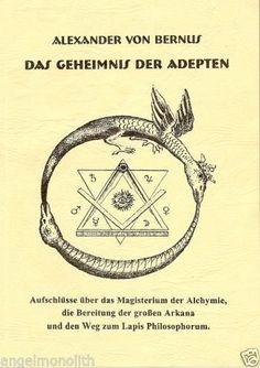 Alexander von Bernus Alchemist der Neuzeit - Magisterium der Alchymie x