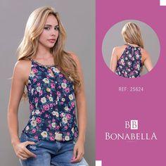 Una prenda que te hará ver encantadora, resalta tu feminidad con esta linda prenda.  Precio Blusa: http://bonabella.com.co/producto/blusa-25624/