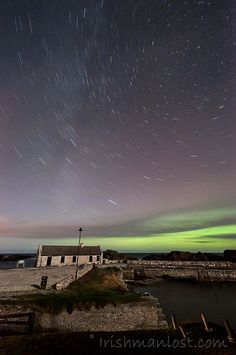 Northern Lights in Northern Ireland. Photo by Irishmanlost