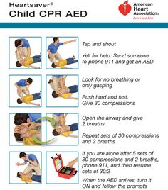 Child CPR Card by American Heart Association Cpr Card, First Aid Cpr, Cpr Training, American Heart Association, Emergency Medicine, Nursing Tips, Heart For Kids, Nursing Students, Nursing Schools