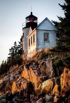 Bass Harbor Lighthouse, Acadia National Park, Maine