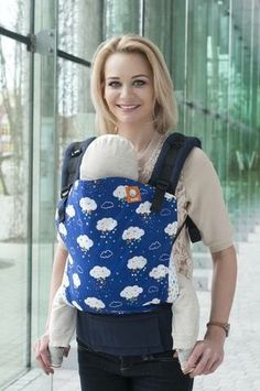 Canvas - UK/Euro Tula Love exclusive 'Rainbow Nimbus' TULA BABY CARRIER