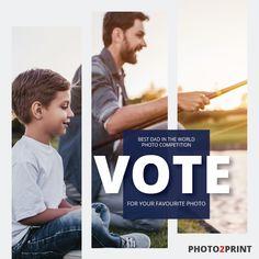 #competitionseason #family_moments #win #photo2printza #shareandwin #photobookcompetition #SouthAfrica #Gauteng #Capetown #Durban #memories Vote Now, Photo Competition, World Photo, Best Dad, Photo Book, Dads, Memories, Movie Posters, Instagram