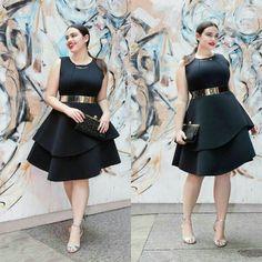 Eloquii Plus Size Peplum Dress