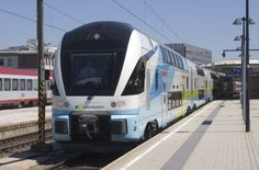 Westbahn unveils new Stadler Kiss 2 trains - International Railway Journal Plan International, Rolling Stock, The Expanse, Trains, Kiss, Europe, Journal, How To Plan, Vehicles