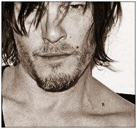 X marks the spot. Look at his tiny tattoo by his collarbone! YumYum.