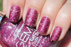 Sally Hansen Gem Crush nail polish in Lady Lucky
