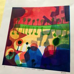 Monoprint Ann, Artist, Painting, Artists, Painting Art, Paintings, Painted Canvas, Drawings