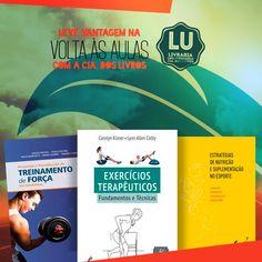 Volta às aulas é com a @editoramanole na Livraria Universitária! Livros de Saúde à Turismo estão aqui na @ciadoslivros. Confira.