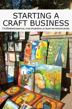 Dreaming of starting a craft business? Here are some tips for getting started.