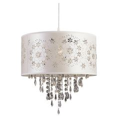 Found it at Wayfair - TransGlobe Lighting 1 Light Drum Pendant - Finish: Whitehttp://www.wayfair.com/TransGlobe-Lighting-1-Light-Drum-Pendant-TGL3336.html?refid=SBP.rBAjD1O13_4WQx5IaKuyAgDw8g_IhEoKtv0jeQvBky0