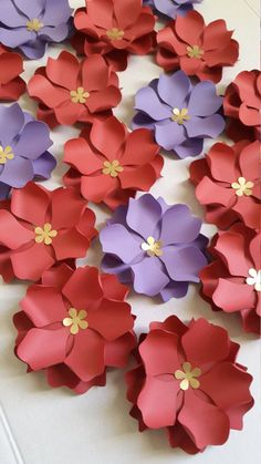 Do you want to grace your event with gorgeous paper flowers but youre on a budget? Not to worry, you can create beautiful paper flowers with this DIY template. This mini paper flowers can be used in various types of projects and embellishment. This listing includes: - SVG cut file Templates to create different sizes of mini flowers - 2 paged pdf document This is an SVG cut file and PDF that will be available for DOWNLOAD when your payment is processed. You can print/cut template pieces...