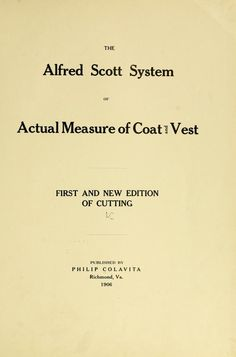 The Alfred Scott system of actual measure of co...