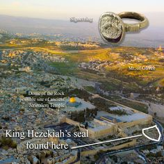 WHAT'S NOT NEWS is that someone found evidence of Jewish King Hezekiah. What's new is that this evidence probably wasn't faked. Bible Crafts, Bible Art, King Hezekiah, Dome Of The Rock, Archaeology, Christianity, City Photo, Names, Culture