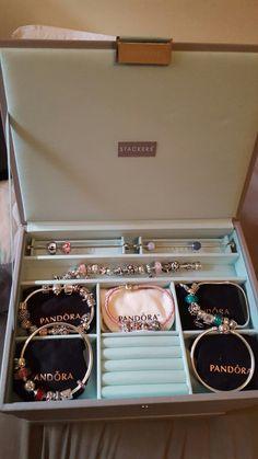 My stackers jewellery box with pandora inside ❤