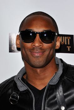 Kobe Bryant in Oliver Peoples.