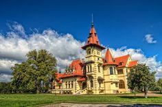 Chateau in Prievoz, Bratislava, Slovakia