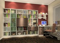 Thank you for visiting Modern study room furnitures interior