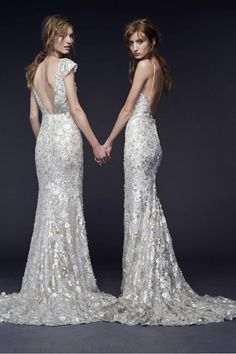 Finally something i really like from Vera Wang. The 9 Dreamiest Dresses From Bridal Fashion Week F/W 15 via @WhoWhatWear