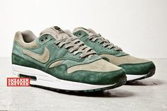 "Nike Air Max 1 ""Green Suede"""