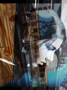 Double Exposure, Medium Art, Architecture Details, Saatchi Art, Street Art, Black And White, Portrait, Artwork, Artist