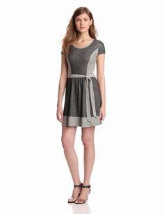 Amazon.com: Kensie Women's Denim French Terry Dress: Clothing