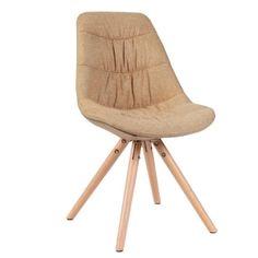 Stolička REGE, látka beige/dub Stool, Chair, Beige, Furniture, Home Decor, Taupe, Homemade Home Decor, Stools, Home Furnishings